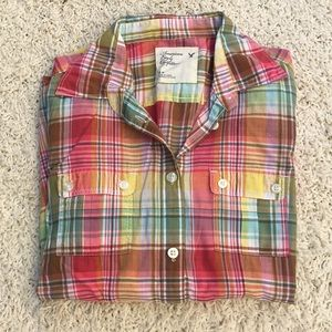 American Eagle Top size S - lightweight cotton